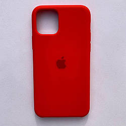 Чехол Silicone Case для Apple iPhone 11 Red