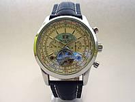 Механические часы BREITLING с автоподзаводом, цвет корпуса серебро