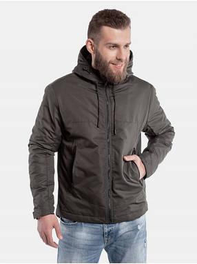 Мужская демисезонная куртка Z1 Хаки, фото 2