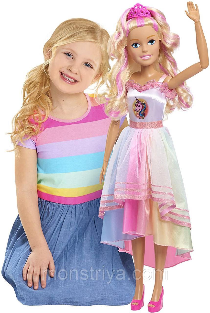 Кукла барби Единорожка Лучшая подружка 70 см Barbie 28 Best Fashion Friend Doll Unicorn