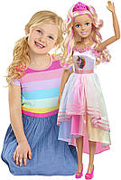 Кукла барби Единорожка Лучшая подружка 70 см Barbie 28 Best Fashion Friend Doll Unicorn, фото 1