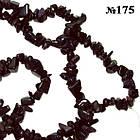 Сколы Авантюрин Каир Синтетический, Размер 4-6*2-4 мм, Около 82 см нить, Рукоделие, Бусины, фото 2