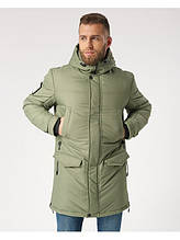 Мужская зимняя куртка Long 3 Олива
