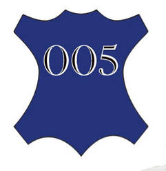 Краска для кожи синий (электрик) Bsk color №005 25 мл