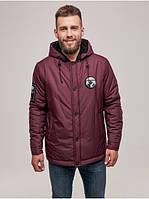 Чоловіча зимова куртка NY Бордо