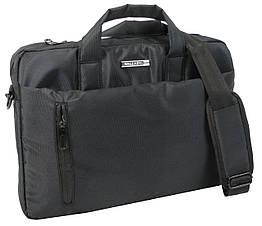 Сумка для ноутбука 15,6 дюймів Wallaby, Украніа 10586 чорна
