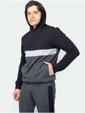 Спортивный костюм КN Черно-белый, фото 2