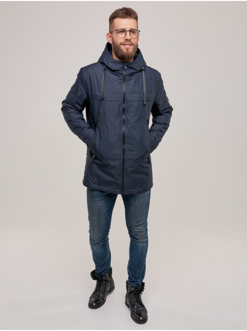 Мужская демисезонная куртка CN Синий Logo