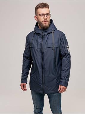 Мужская демисезонная куртка CN Синий Logo, фото 2