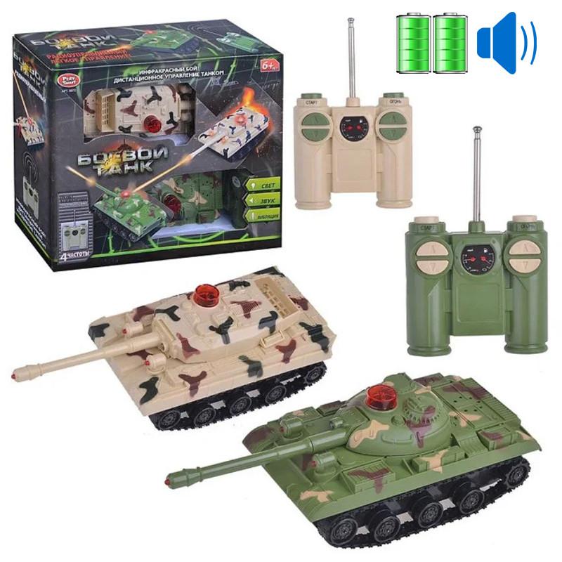 Игрушка Танковый бой на радиоуправлении (инфракрасный) 9672
