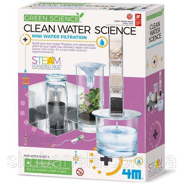 Набор для исследований 4M Фильтр для воды (00-03281)