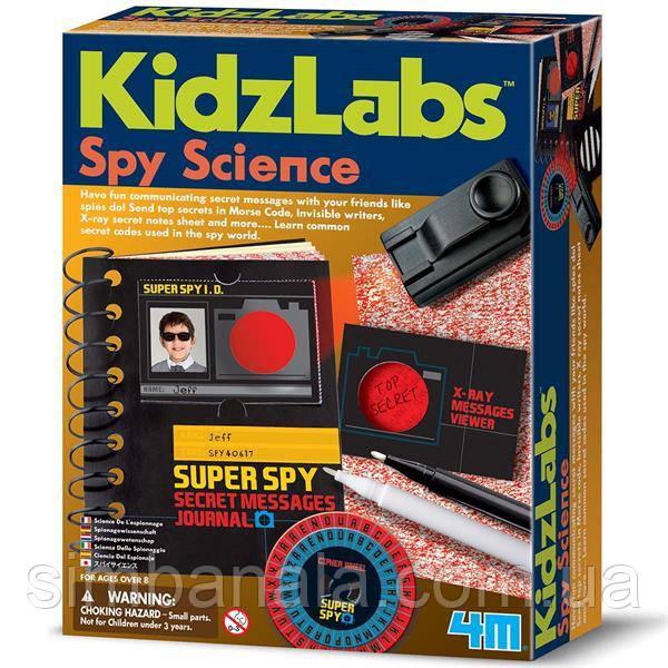 Набор шпиона 4M Секретные сообщения (00-03295)