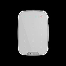 Беспроводная сенсорная клавиатура Ajax KeyPad (белая)