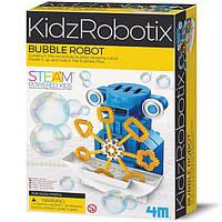 Научный детский набор 4M Робот-мыльные пузыри