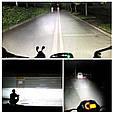 Яркая светодиодная LED Фара + Стробоскоп / Фонарь для авто, мотоцикла, скутера ( 16 LED, 12V, 24 Вт, 6500K ), фото 6
