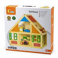 Деревянный игровой набор Viga Toys Кукольный домик (56254), фото 1