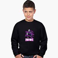 Свитшот для мальчика Фортнайт (Fortnite) (9509-1190-4) Черный 146 см