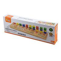 Деревянный обучающий набор Viga Toys Цифры и счет (59072), фото 1