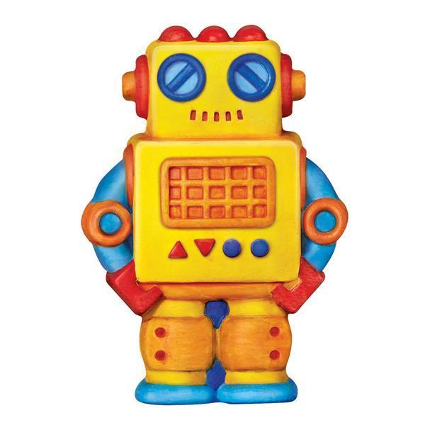 Набор для творчества 4M Магниты из гипса Роботы (00-04653)