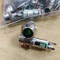 Сигнальна арматура AD22C-10 зелена 24V AС/DC