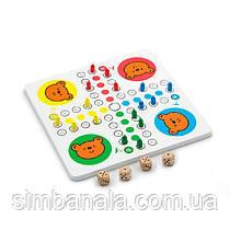 Дерев'яна настільна гра Viga Toys Мозаїка і лудо (59990)
