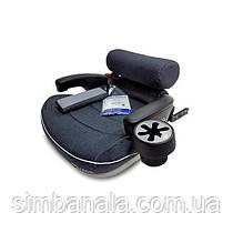 Детское автокресло-бустер с системой IsoFix Welldon Travel Pad, в к-те подушка для поддержки и подстаканник