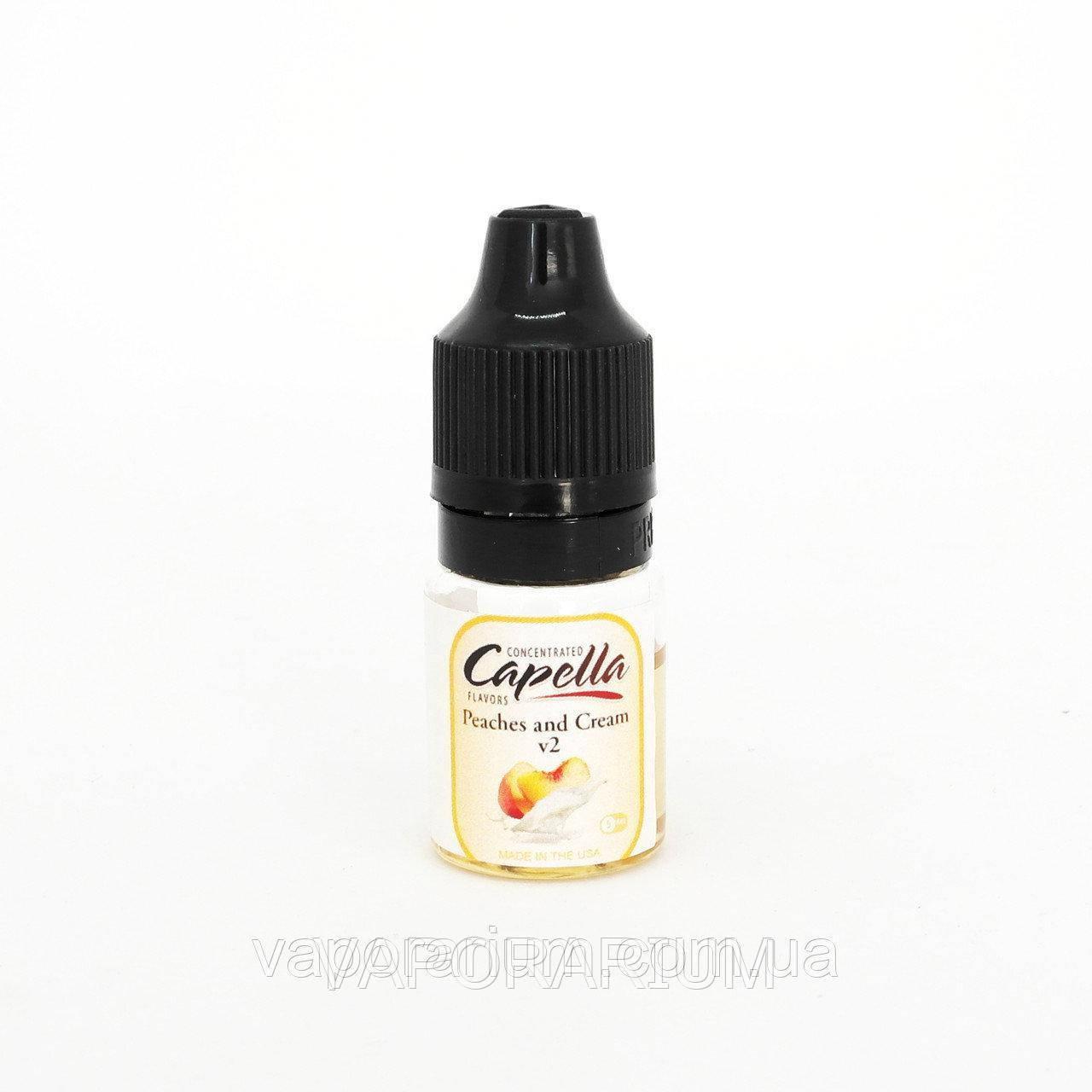 Ароматизатор Capella Peaches and Cream (Персики с кремом) 5 мл. (0221)