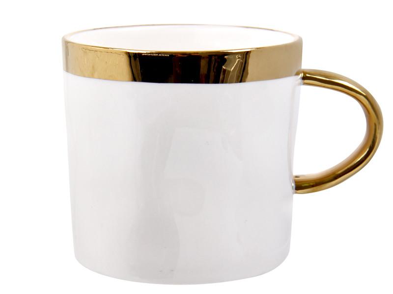 Чашка з золотим обідком 350мл