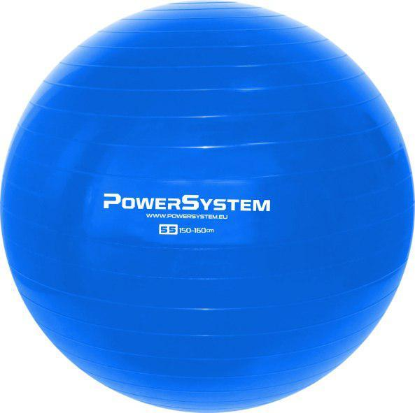 Мяч для фитнеса и гимнастики POWER SYSTEM PS-4011 55cm Blue