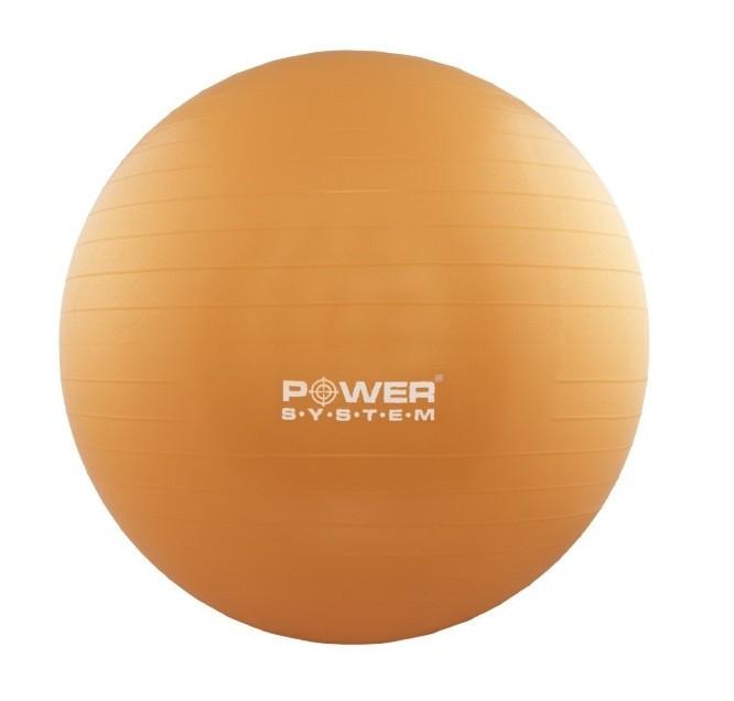 Мяч для фитнеса и гимнастики POWER SYSTEM PS-4012 65cm Orange
