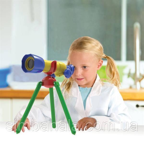 Детский первый телескоп 15x Edu-Toys