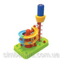 Конструктор Edu-Toys Горка-спираль с инструментами (JS022)