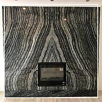 Каменная «бабочка» в отделке камина: цена, фото., фото 1