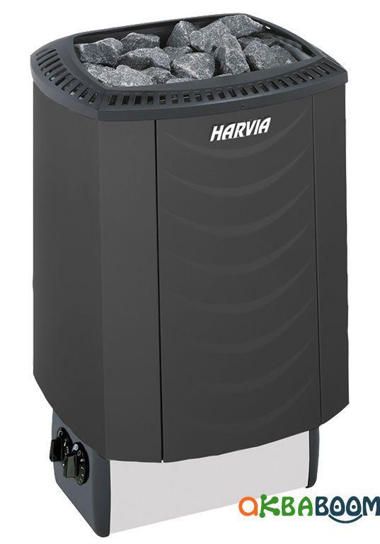Электрокаменка Harvia Sound M80 White/Black/Platinum/Steel