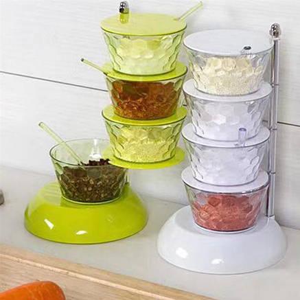Oрганайзер кухонный вертикальный вращающийся, фото 2