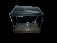 Аквариум прямоугольный 30 л с крышкой,светильником и поддоном 3 в 1