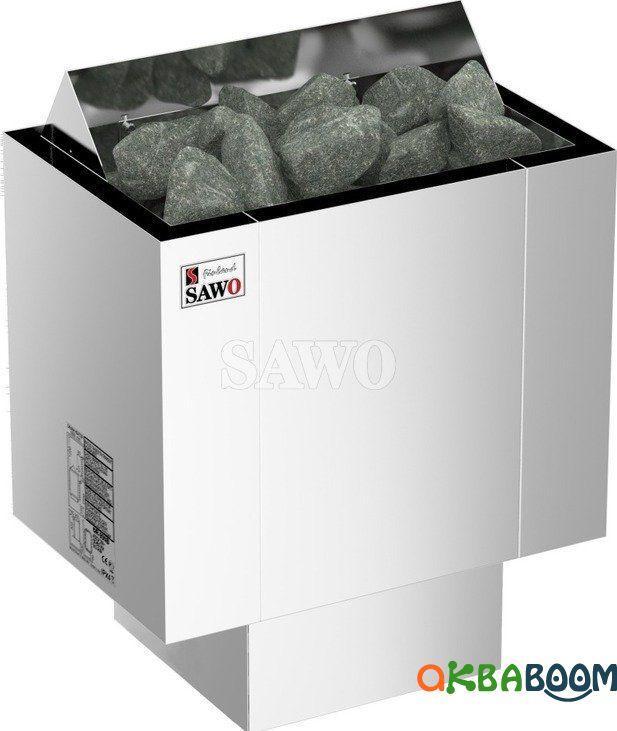 Электрокаменка Sawo Nordex NRX-60NS, Электрокаменки, Финляндия, 5-10 м3, 6 квт, 220/380, Настенная, Выносной,