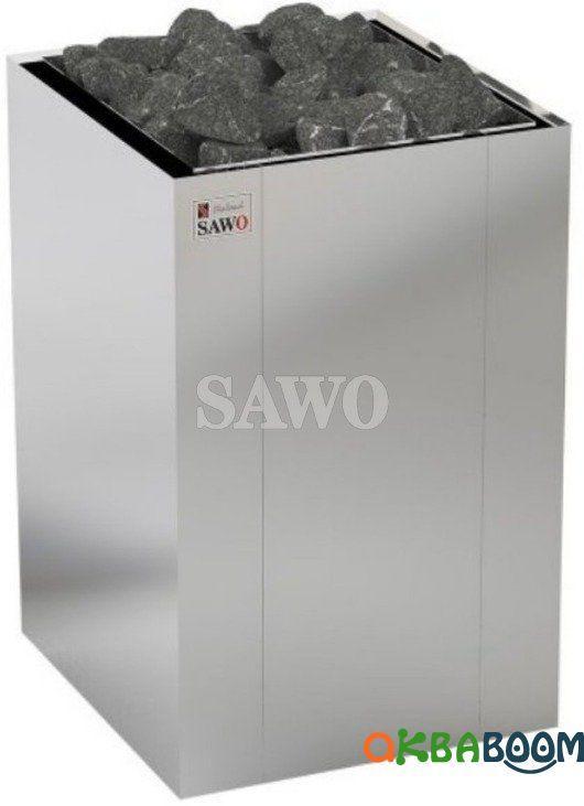 Электрокаменка Sawo Nordex Floor NRFS-120NS, Электрокаменки, Финляндия, 10-18 м3, 12 квт, 380, Напольная,
