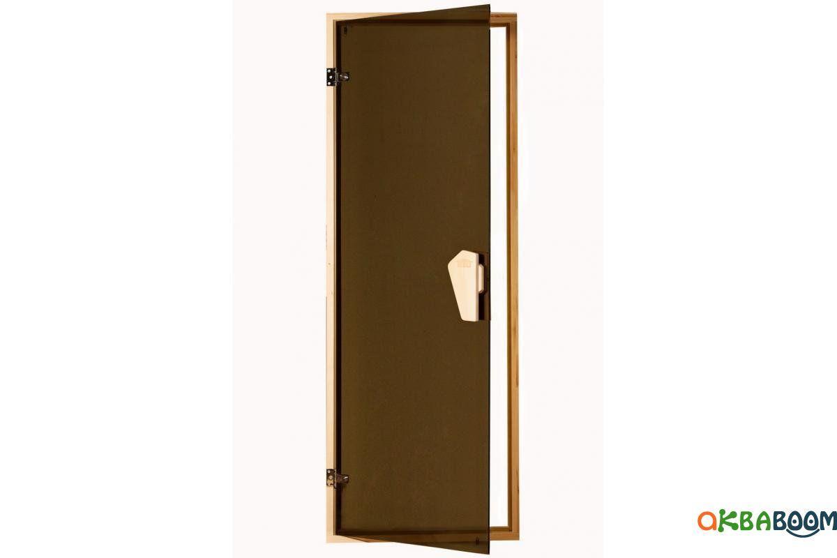 Двери для бани и сауны Tesli Sateen 2050 x 800, Дверь стеклянная, Украина, 80/205