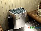 Электрокаменка Sawo Scandia SCA-80NB, Электрокаменки, Финляндия, 8-15 м3, 8 квт, 380, Настенная, Встроенный,, фото 2