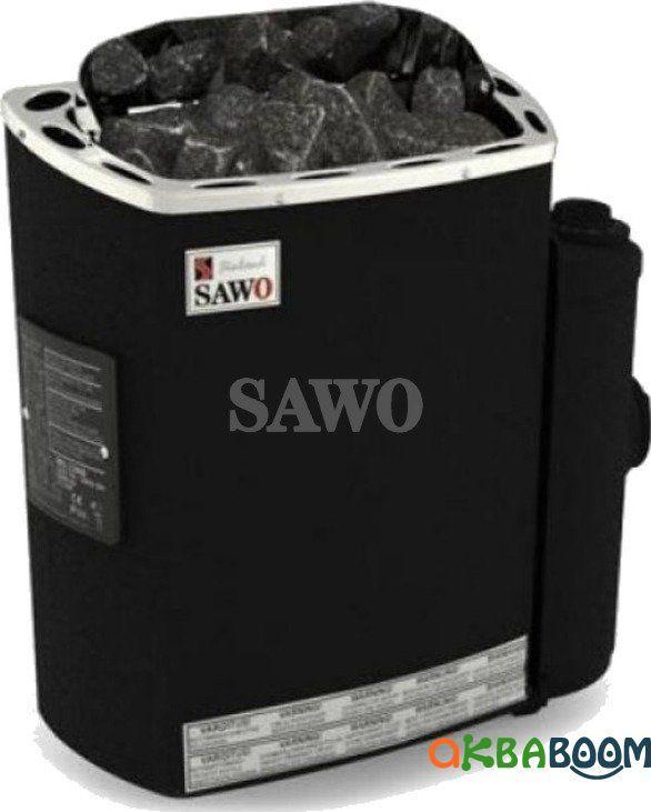 Электрокаменка Sawo Scandia SCA-90NB Fiber, Электрокаменки, Финляндия, 8-15 м3, 9 квт, 380, Настенная,