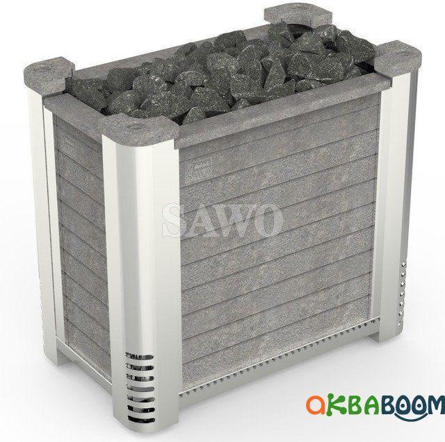 Электрокаменка Sawo Altostratus ALTO-210N-V12, Электрокаменки, Финляндия, 24-38 м3, 21 квт, 380, Напольная,