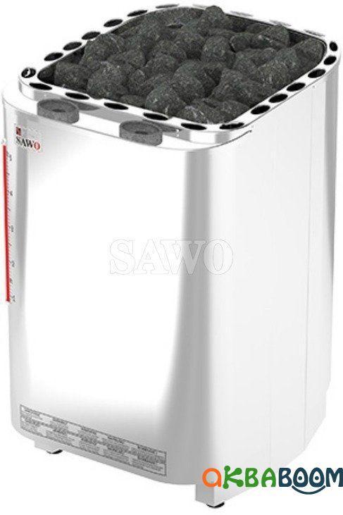 Электрокаменка Sawo Savonia Combi SAVC-90N, Электрокаменки, Финляндия, 8-15 м3, 9 квт, 380, Напольная,