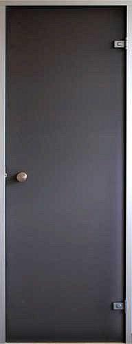 Стеклянная дверь для хамама Saunax Classic 70/210 прозрачная бронза, Дверь стеклянная, Эстония, 70/120