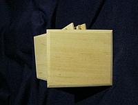 Заготовка для творчества декупажа магнитов прямоугольная Бук 80*50 мм толщина 6 мм