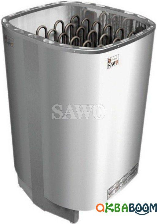 Электрокаменка Sawo Savonia SAV-90NB Basic, Электрокаменки, Финляндия, 8-15 м3, 9 квт, 380, Напольная,