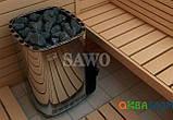 Электрокаменка Sawo Savonia SAV-90NB Basic, Электрокаменки, Финляндия, 8-15 м3, 9 квт, 380, Напольная,, фото 3