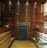 Электрокаменка Sawo Slim SLM-75NS, Электрокаменки, Финляндия, 8-15 м3, 7,5 квт, 380, Настенная, Выносной, Нет, фото 2