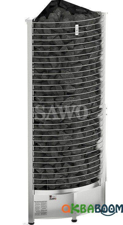 Электрокаменка Sawo Tower Corner TH6-120N-CNR, Электрокаменки, Финляндия, 10-18 м3, 12 квт, 380, Напольная,