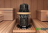 Электрокаменка Sawo Tower Round TH12-240N, Электрокаменки, Финляндия, 36-45 м3, 24 квт, 380, Напольная,, фото 2